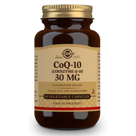 Coenzima Q-10 30 mg - 60 Cápsulas vegetales