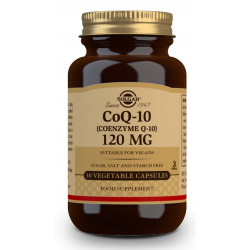 Coenzima Q-10 120 mg - 30 Cápsulas vegetales