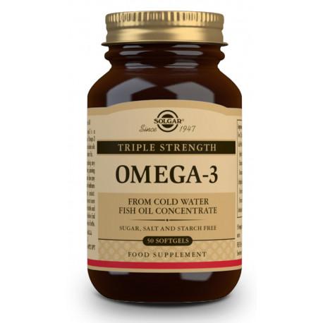 """Omega-3 """"Triple Concentración"""" - 50 Cápsulas blandas"""