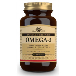 """Omega 3 """"Alta Concentración"""" 30cap Solgar"""