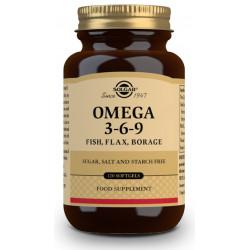 Omega 3, 6 y 9 120 perlas Solgar