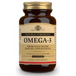 """Omega 3 """"Alta concentración"""" 120 capsulas Solgar"""