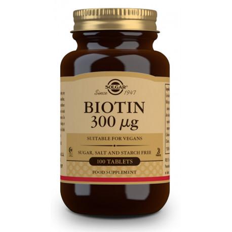 Solgar comprimidos Biotina 300Mg