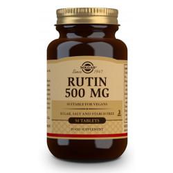 Rutina (bioflavonoide) 500 Mg 50 Comp Solgar
