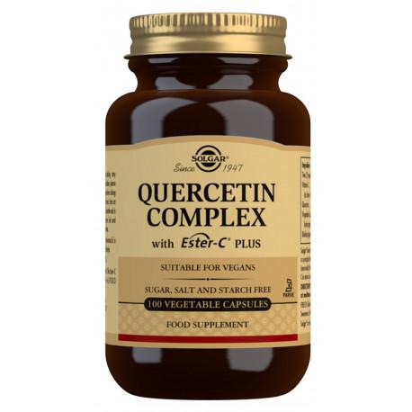 Quercetina Complex con Ester-C® Plus - 100 Cáps vegetales