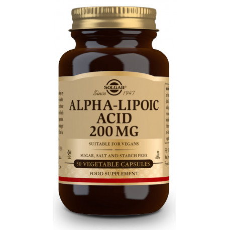 Acido Alfa Lipoico 200Mg Solgar