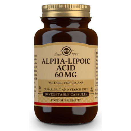 Acido Alfa Lipoico 60Mg Solgar