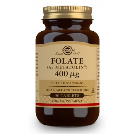 Ácido fólico como folato (como Metafolin®) 400 μg - 50 Comp