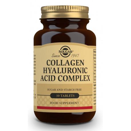 Acido Hialuronico Complex 30 comprimidos Solgar