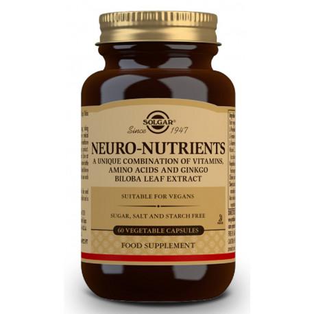 Neuro Nutrientes 60 capsulas Solgar