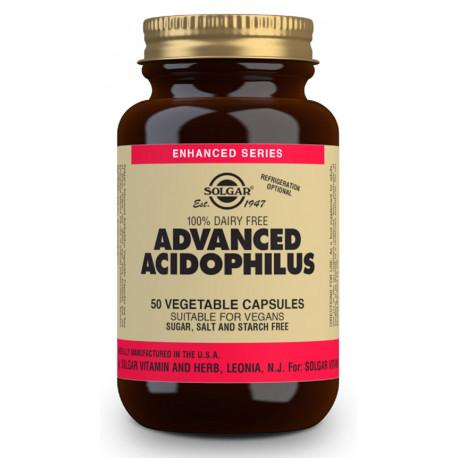 Acidophilus Avanzado (no lácteo) - 50 Cápsulas vegetales