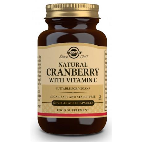 Arándano Rojo Con Vitamina C 60 Capsulas Solgar