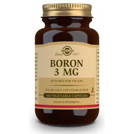 Boro 3 mg - 100 Cáps vegetales