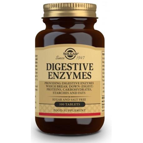Enzimas Digestivas 100Comp Solgar