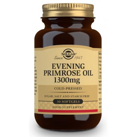 Aceite de onagra o prímula 1300 mg - 30 Cápsulas blandas