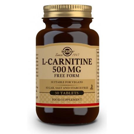 L-Carnitina 500 mg - 30 Comp Solgar