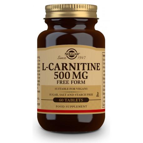 L-Carnitina 500 mg - 60 Comprimidos