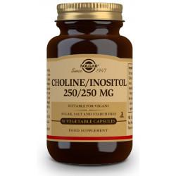 Colina Inositol 250-250 mg 50 cap Solgar