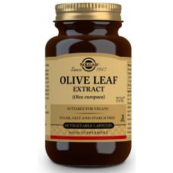 Extracto estandarizado de hoja de olivo 60 caps Solgar