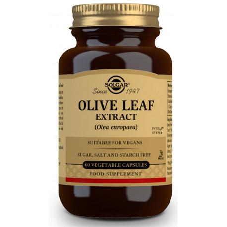 extracto de hoja de olivo 60 caps Solgar