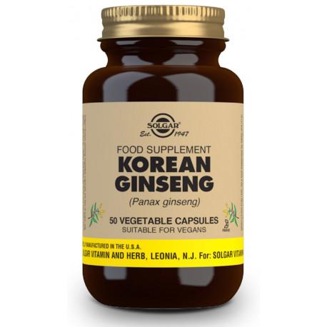 Ginseng Rojo Coreano Cap 19059 Solgar