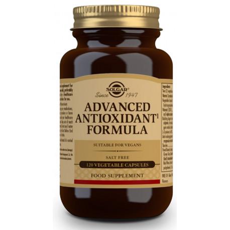 Formula Antioxidante 120 capsulas Avanzada Solgar