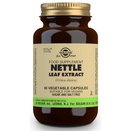 Ortiga Extracto de Hoja (Urtica dioica) - 60 Cáps vegetales
