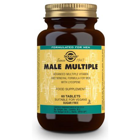 Male Múltiple (complejo para el hombre) - 60 Comp Solgar