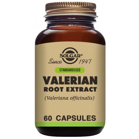 Valeriana Extracto de Raíz (Valeriana officinalis) - 60 Cáps Solgar