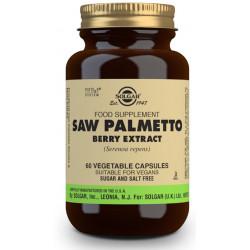Sabal (SawPalmetto) Extracto estandarizado de bayas de Serenoa Repens 60 caps Solgar