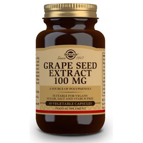 Extracto de Semilla de Uva 100 mg - 30 Cáps Solgar