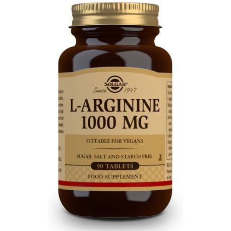 L-Arginina 1000 mg - 90 Comp Solgar