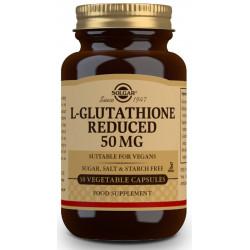 L-Glutatión Reducido 50 mg - 30 cáps vegetales