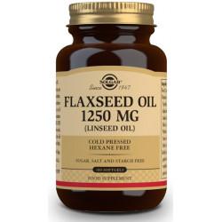 Aceite de Linaza 1250 mg - 100 Cápsulas blandas