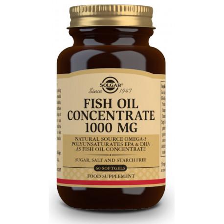 Aceite de Pescado Concentrado 1000 mg - 60 Cáps Solgar