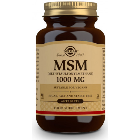 MSM 1000mg 60 comp Solgar