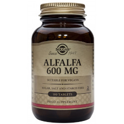Comp Alfalfa 600Mg Solgar