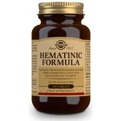 Fórmula Hematínica - 100 Comprimidos Solgar