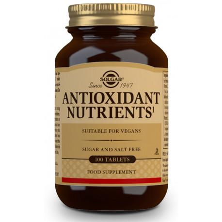 Nutrientes Antioxidantes - 100 Comp Solgar