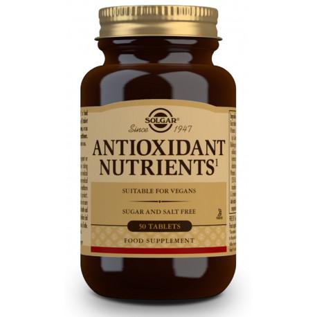 Nutrientes Antiox 50Comp Solgar