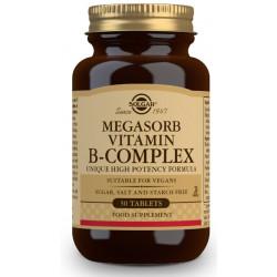 Megasorb B Complex 50 Comp Solgar