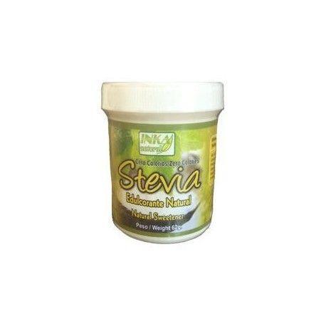 Stevia en polvo, 62gr