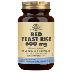 Levadura de arroz rojo 60Caps 600Mg Solgar