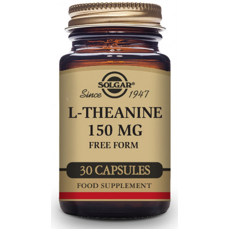 L-Teanina 30 capsulas 150Mg Solgar