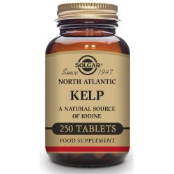 Kelp del Atlántico Norte (yodo) - 250 Comp Solgar