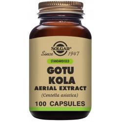 Gotu Kola Extracto Aéreo (Centella asiatica) - 100 Cáps Solgar