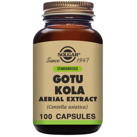 Gotu Kola 100 capsulas Centella Asiatic Solgar