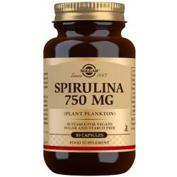 Espirulina 750 mg (Plancton) - 80 Cáps Solgar