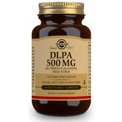 DL-Fenilalanina DLPA 500 Mg 50 Cap Solgar