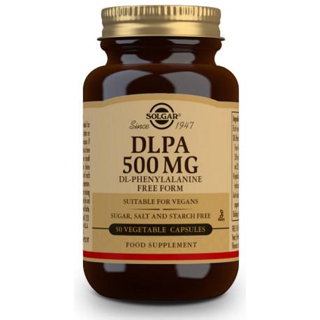 DLPA (DL-Fenilalanina) 500 mg - 50 Cáps vegetales